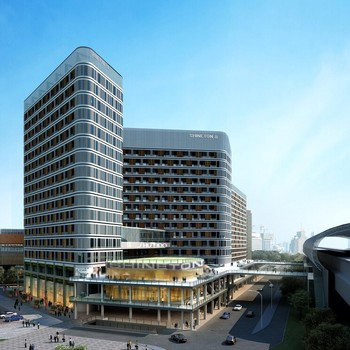 BISINI Luxury Modern Shopping Mall Architecture Design