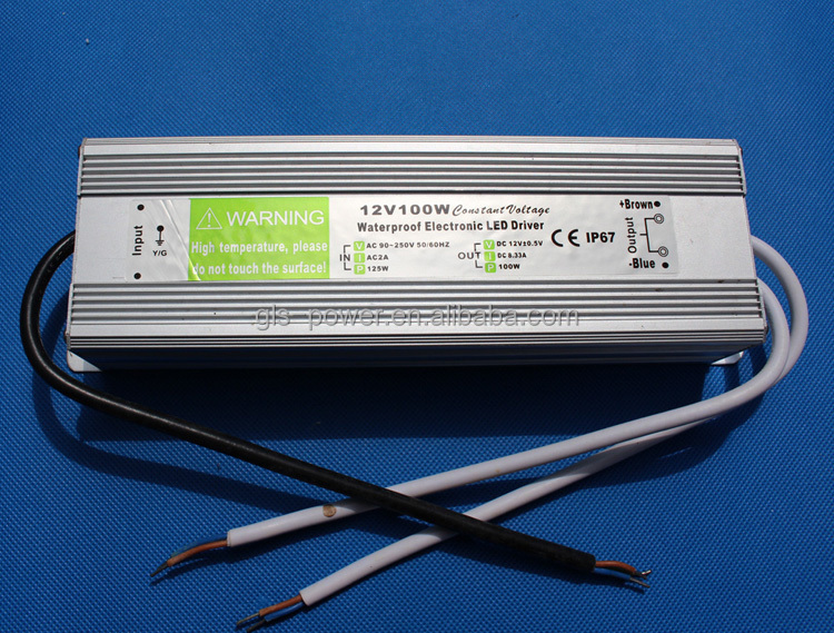 Waterproof 12v Dc Fiber Optic Christmas Tree Power Supply 12v 100w  - Fiber Optic Christmas Tree Power Supply