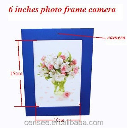 New hot selling Spy Photo Frame Hidden Mini Invisible Picture Frame Camera