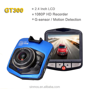 "Full HD 1080P 30fps 2.4""LCD with G-sensor Night Vision user manual hd 720p car camera dvr video recorder"