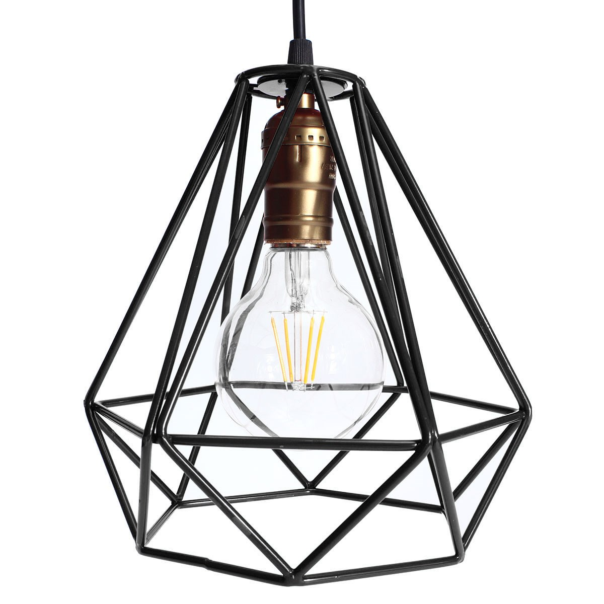 lampshade modern lamp cover loft industrial edison metal