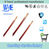 double layers fiberglass braiding silicone impregnated nickel core wire cable