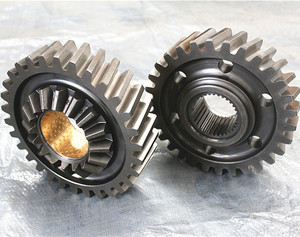 auto parts driven cylindrical gear 2502ZAS01-051 for Dongfeng truck