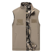 2016 Softshell Reversible Canvas Hunting Vest