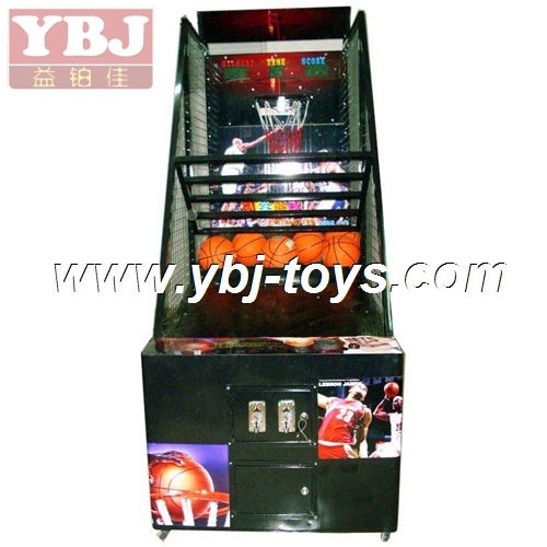 new design 2014 Coin operated street basketball arcade game machine
