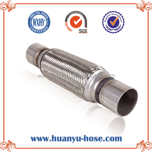 car catalyst muffler with nipple flexible exhaust tip