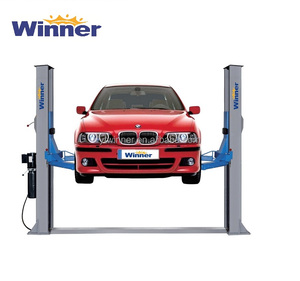 W6240 Manual Two Post Car Lift with Reasonable Price