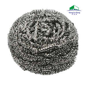 High quality hot sale AISI 410/430 stainless steel scourer cleaning balls for kitchen cleaning