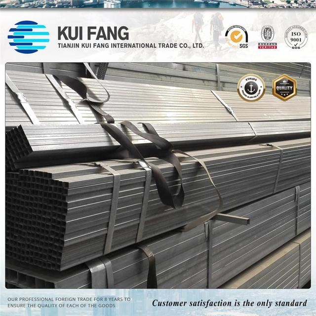 GI pipe building materials price galvanized steel pipe for construction