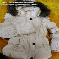 used clothing / lady winter coat for morning and evening wear / used clothing lots2019
