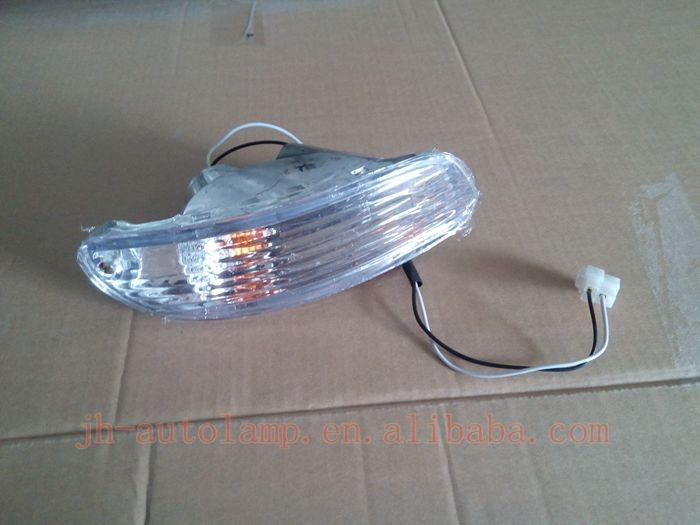auto white lens front lamp for Sephia 96'98 fog lights
