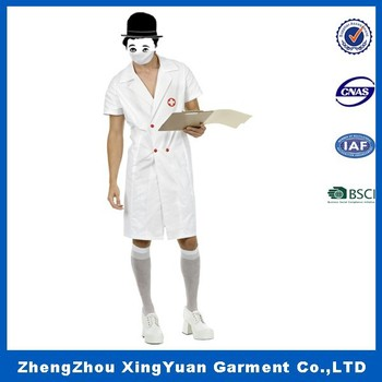 0fe6ace0c0d66 Sexy Tutu Nurse Hospital Doctor Fancy Dress Costume,White pattern wholesale  white man doctor hospital