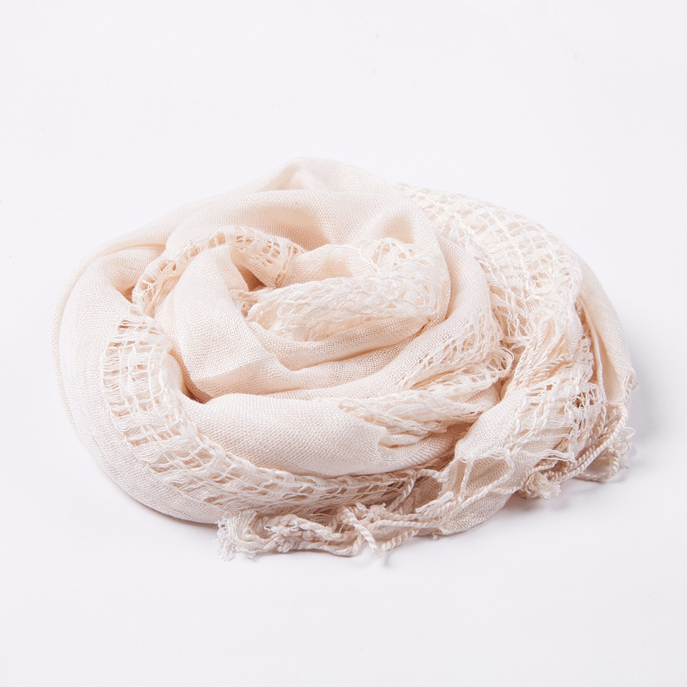 Chinese Manufacturers 100% Cotton Pashmina Shawl Scarf