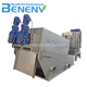 ISO9001 screw press machine for sludge anaerobic digestion