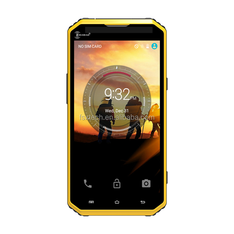 "6.0"" Android IP683G 4G Bluetooth GPS WIF rugged mobile phone"