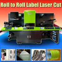 Self Adhesive Label Laser Converting, Dieless Laser Cutting Machine