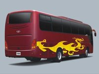 GDW6121HK tour used bus for sale