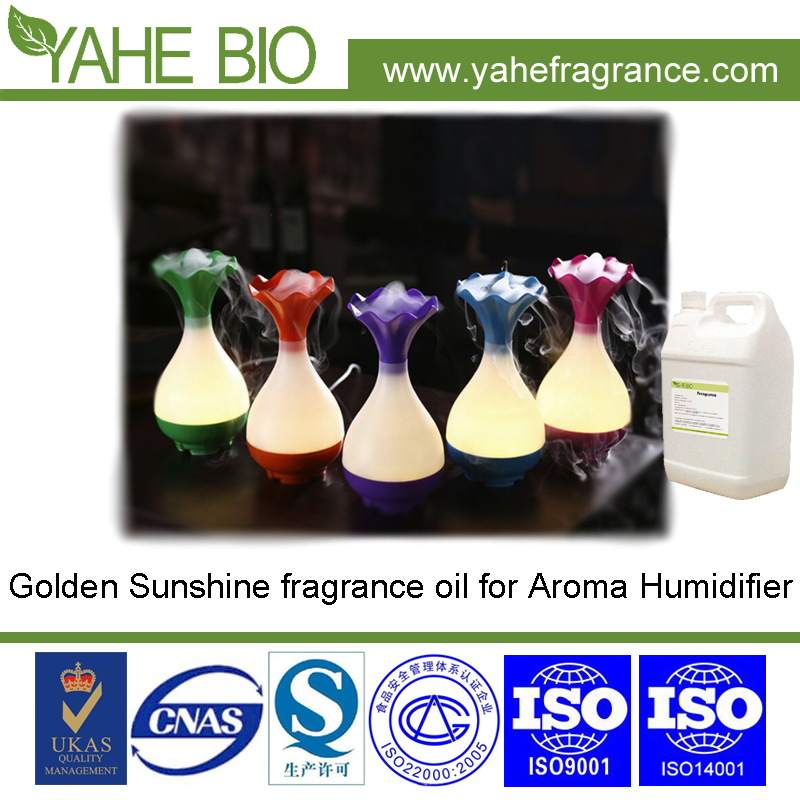 New product Golden Sunshine concentrated fragrance oil for Aroma Humidifier