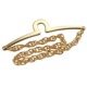 Men Accessories Polish Gold Gent Tie Chain Fashion