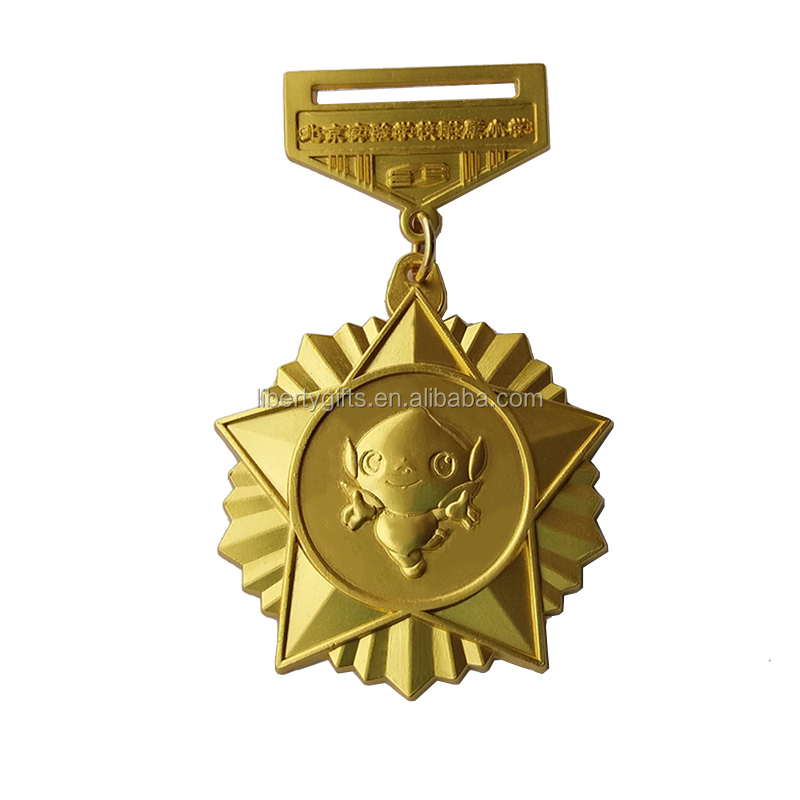 high quality gold parliament medal award