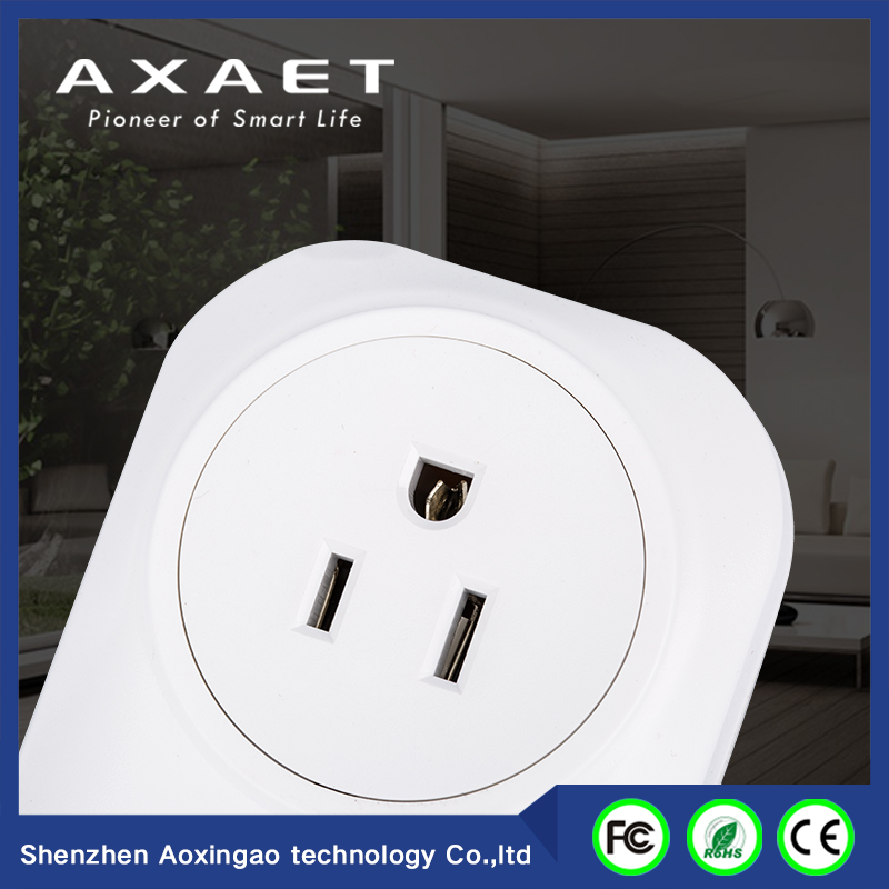 Axaet wireless wifi power plug smart socket for household appliance