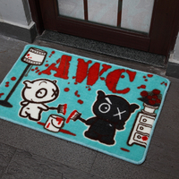 Custom Anti Slip Print Bath Mat for Baby