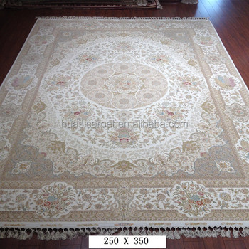 Wool Carpet Handwoven India Silk