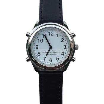 74f332342dd Inglês Falando Falando Relógio Para Cegos Idosos Com Função Do Tempo ...
