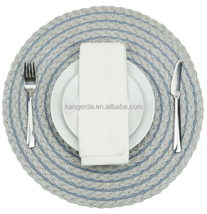 round wicker sunflower table mat/placemats