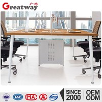 Basic office cubicle workstation Computer Desks latest office table designs