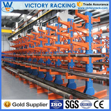 Nanjing Heavy Duty Cantilever Storage Racking System For Long Objects