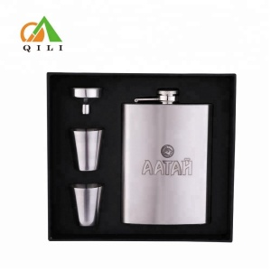 gadgets 2018 unique gift ideas hip flask set corporate gift for him with shot glass and funnel