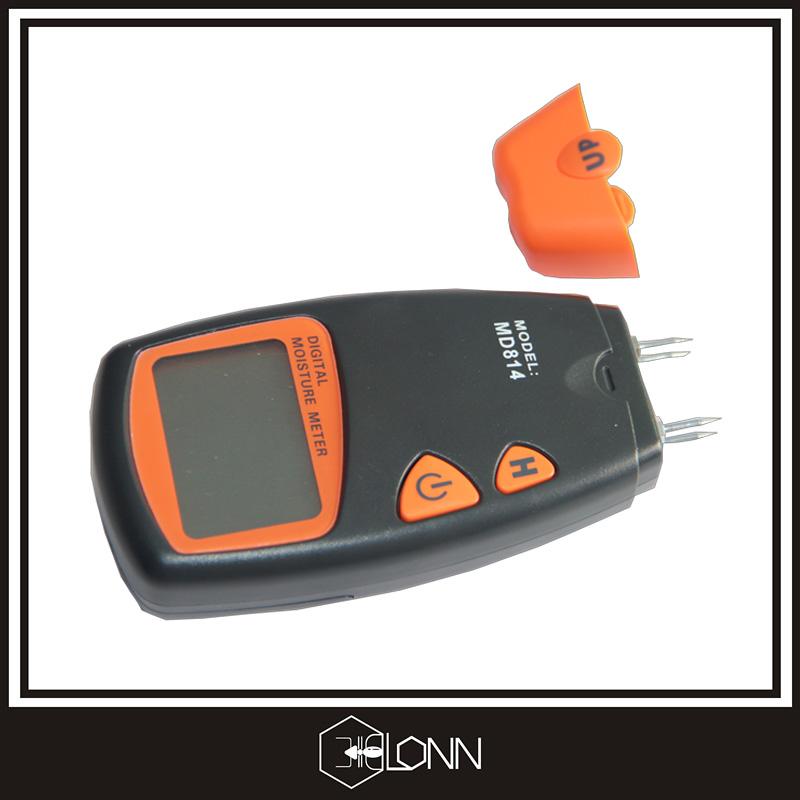 Feuchtigkeit Meter Präzision Digitale Holzfeuchte-messgerät Lcd Display Hygrometer Temperatur Luftfeuchtigkeit Tester Meter Wetterstation Diagnose-tool