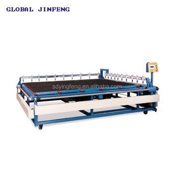 JFC-2620 Semi-automatic control glass cutting machine with 20 knvies with CE China made