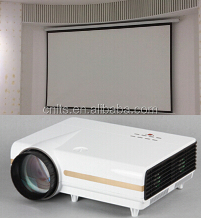 multimedia projector and screen 1080P hdmi projector screen