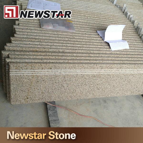 Bevel Edge Granite Stairs Beveled Anti Slip Stair Tread