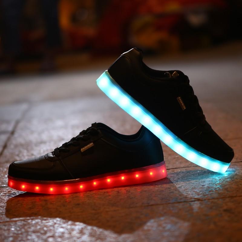 Low Price Fashion Adults Black Led Shoes 3f4a40f9595e