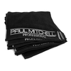 100% Cotton Bleach Proof Black Towel for Salon