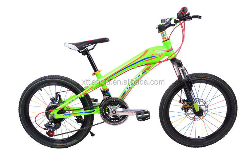 bright green fixed gear bike for kids 2017
