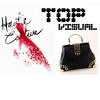 39340015930 casual shoulder studded messenger bag Shoulder Bag