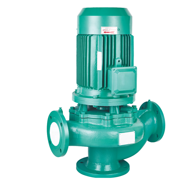 High flow booster pump city electric water pressure booster vertical inline centrifugal pump