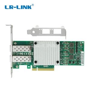 LR-LINK LREC9812AF-2SFP+ PCIe x8 BCM57810S Chipset Dual Port Fiber SFP+  External 10 Gigabit Ethernet Card