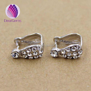 925 silver pendant bails hooksclasps with rhinestone for necklace 925 silver pendant bails hooksclasps with rhinestone for necklace making aloadofball Gallery
