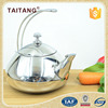 Star hotel kitchen equipment stainless steel whistling chinese tea kettle
