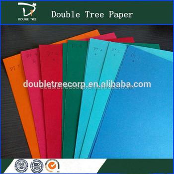 中国工場カラーa3 a4サイズブリストルボード紙 カラフルな段ボールマニラ