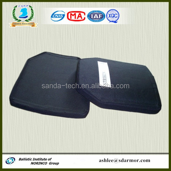 Level IV Kevlar Ceramic Hard Armor/ Bulletproof Plate