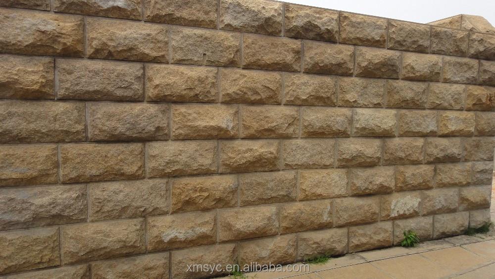 Stenen voor muur in tuin - Facing muur voor badkamer ...