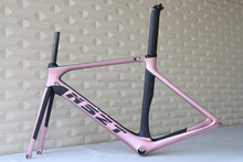 Custom painting High quality 700C carbon road bike frame, good lookings carbon bike frame lightweight road bike carbon frame