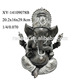 Decorative Resin Ganesh Statue For Sale