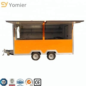 Commerical Ice Cream/Slush/Shaved Ice/Juice and Milkshake Vending Trailer For Sale